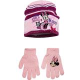 Minnie Mouse muts en handschoenen set