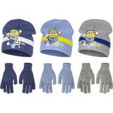 Minions muts met handschoenen set_