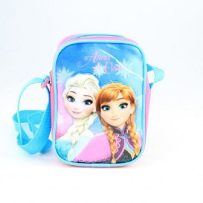Disney Frozen mini messenger schoudertas roze/blauw