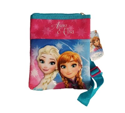 Disney Frozen schoudertasje roze/blauw