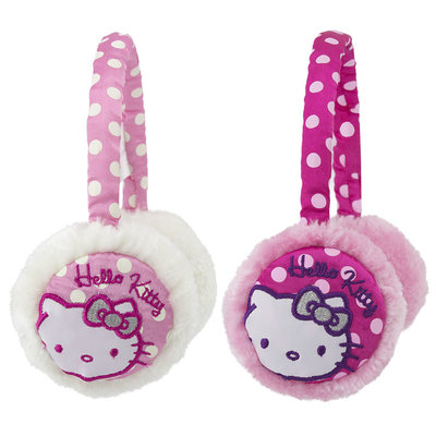Hello Kitty oorwarmers