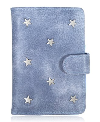 Paspoorthoesje Stars blauw