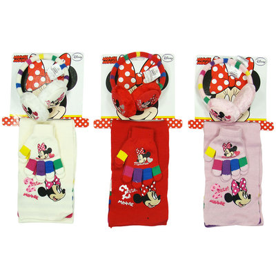 Disney Minnie Mouse 3 delige winterset