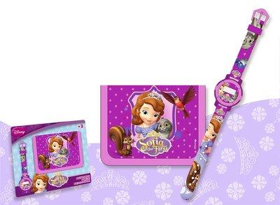 Disney Sofia prinsesje horloge met portemonnee geschenkset