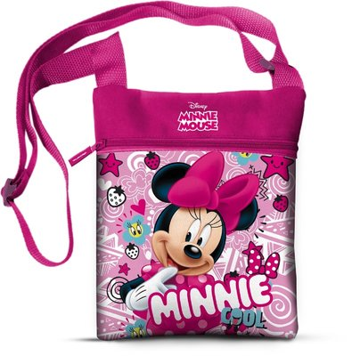 Disney Minnie Mouse roze schoudertas mozaïk glans