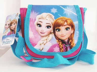 Disney Frozen schoudertas roze met blauw