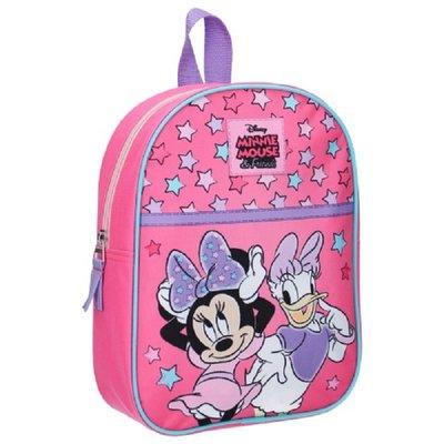 Disney rugzak Minnie Mouse & Friends Pink Vibes meisjes 28x22x10 cm