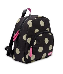 003630e0810 Zebra Trends girls rugzak glitter dot gold - Ultimate Travelstyle