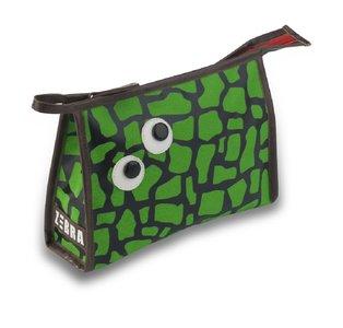 Zebra Trends jongens toilettas Turtle Green