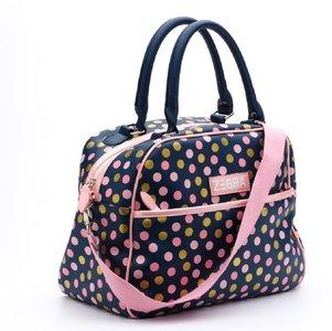 Zebra Trends luxe kidsbag dots blue
