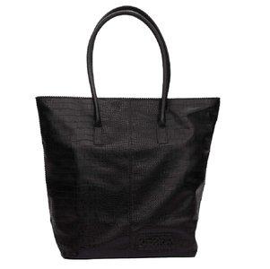 Zebra Trends Natural Bag kartel met rits zwart