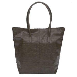 Zebra Trends Natural Bag kartel met rits army green